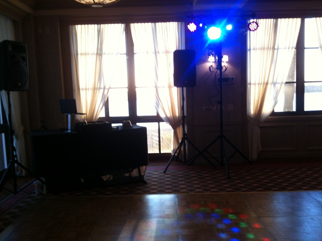 Dance lighting